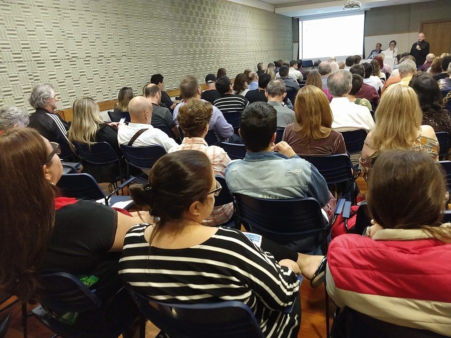 Categoria lotou espaço de eventos do Sindicato em Porto Alegre