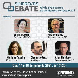 Sinpro/RS Debate